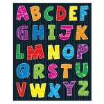 Alphabet Shape Stickers 156pk