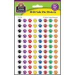 Colorful Paw Prints Mini Stickers Value Pack