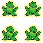 Chart Seals Frogs 810/pk Acid & Lignin Free