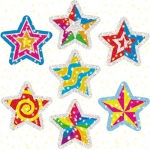 Dazzle Stickers Star Power 75-Pk