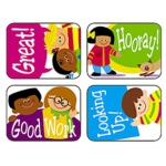 Applause Stickers Cartoon Kids
