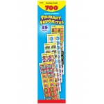 Applause Stickers 700/pk Primary Favorites Acid-Free Jumbo Variety