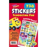 Sticker Pad Schooltime Fun