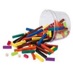 Cuisenaire Rods Small Group 155/pk Plastic