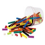 Cuisenaire Rods Small Group 155/pk Wood