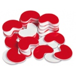 Bean Counters 200-Pk Plastic Red & White