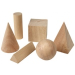 Basic Geometric Solids Set Of 6