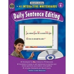 Interactive Learning Gr 6 Daily Sentence Editing Bk W/cd