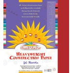 Sunworks 12x18 Red 50shts Construction Paper