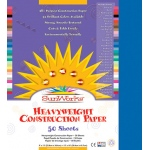 Sunworks 9x12 Bright Blue 50shts Construction Paper
