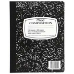 Notebook Composition 100sht 9 3/4 X 7 1/2