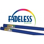 Fadeless Art Rolls 24 X 12 Royal Blue Film Wrapped