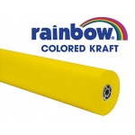 Rainbow Kraft Roll 100ft Yellow