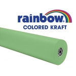 Lite Green 36x1000 Rainbow Kraft