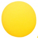 Foam Ball 8-1/2 Uncoated Yellow