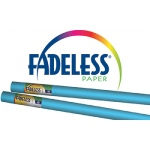 Fadeless 48x50 Roll Lite Blue Boxed
