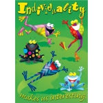 Individuality Makes Us Interesting Argus Large Poster