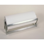 "Bulman Stainless All in One Dispenser/Cutter with Serrated Blade: 12"" Width"