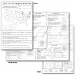 Regions Of The Usa Poster Paper