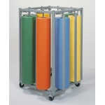 Bulman Eight Roll Square Vertical Paper Rack