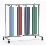 Bulman Four Roll Vertical Paper Rack