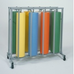Bulman Eight Roll Vertical Paper Rack