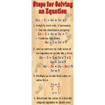 Algebra Solving Equations Colossal Poster