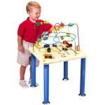 "Anatex Traffic Jam Rollercoaster Table: 20"" x 20"" x 24"""
