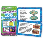 Challenge Cards Test Prep Math Gr 4- 6 Word Problems