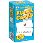 Flash Cards Basic Sight Words 6 X 3