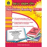Daily Warm Ups Gr 1 Nonfiction Reading