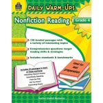 Daily Warm Ups Gr 4 Nonfiction Reading