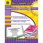 Daily Warm Ups Gr 6 Nonfiction Reading