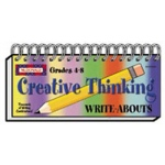 Creative Thinking Write Abouts