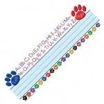 Paw Prints Left/right Alphabet Name Plates