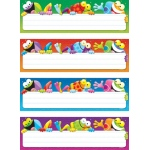 Frog Tastic Name Plates Variety Pack Of 4 Designs 32 Plates