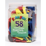 58 Foam Fun Magnets Upper Letters