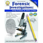 Forensic Investigations Activity Book Gr 4-8