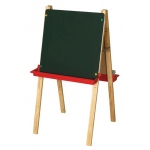 ECR4Kids Double-Sided Adjustable Easel w/ Chlkbrd & DE
