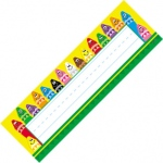 Desk Toppers Colorful 36/pk 2x9 Crayons