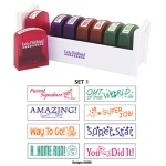 Self-Inking Teacher Stamps Set 1