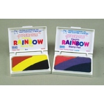 Stamp Pad Rainbow Primary 3 Colors Washable