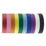 "ECR4Kids 1"" Colorful Craft Tape Roll 10 pc - Assorted"