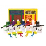 "Early Childhood ""Learn Your Colors"" Paint Crate: 27 Pieces Set"
