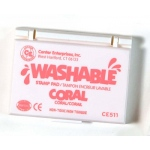 Stamp Pad Washable Coral
