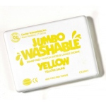 Jumbo Stamp Pad Yellow Washable