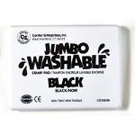 Jumbo Stamp Pad Black Washable