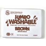 Jumbo Stamp Pad Brown Washable
