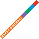 Happy Birthday Wristbands 10/pk