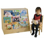 Early Childhood Book Display with Storage
